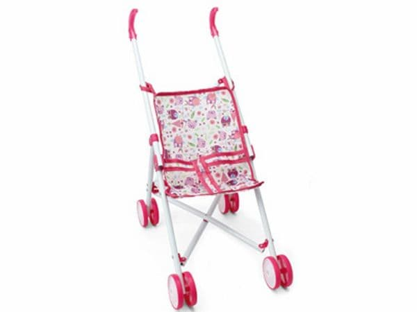 Toy Doll Stroller White & Pink | Dolls & Doll Accessories | TOY&MODELSTORE